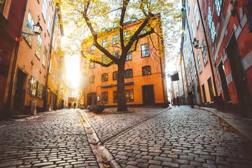 Stockholm Gamla Stan at sunset, Sweden, Scandinavia