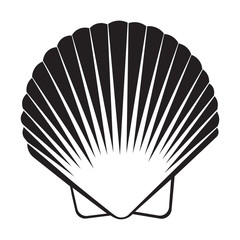 Seashell flat icon