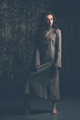 full length female portrait