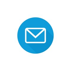 Mail logo. Letter Icon. envelope and post symbol. Vector eps 08.