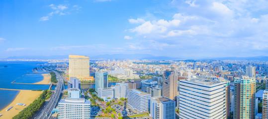 福岡タワーからの眺望