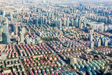 Urban scenery in Shanghai, China