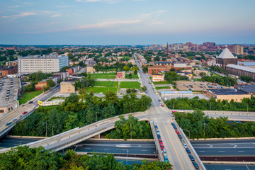 View of East Baltimore, Maryland