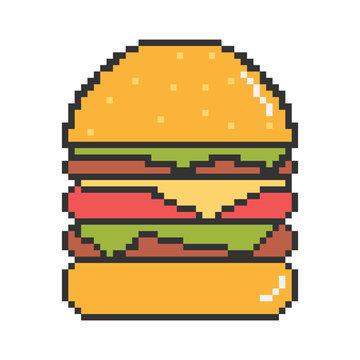 Vector best burgers illustration
