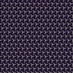 Abstract seamless pattern. Twisted lines