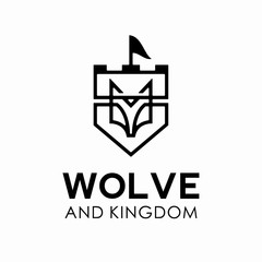 Wolf Logo Vector Template