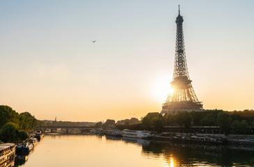 Eiffel tower, Paris. France. copyspace for your individual text.