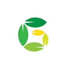 Letter G Natural Logo