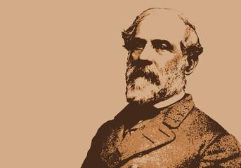 Général Lee - Portrait - personnage - historique - célèbre - américain - militaire - guerre de Sécession