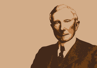 Rockefeller - portrait - milliardaire - personnage - historique - célèbre - capitalisme - américain
