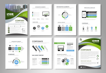 Infographic and visual design