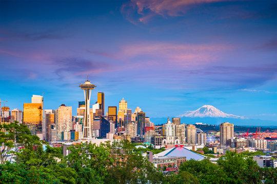 Seattle, Washington, USA Skyline