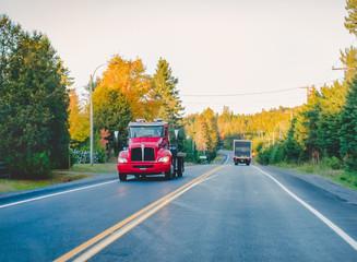 Route - Automne - Canada