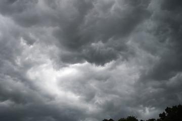 Missouri storm clouds