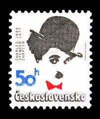 Charlie Chaplin (1889-1977), Anniversary Personalities 1989 serie, circa 1989