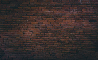 Old red brick wall texture background,brick wall texture for for interior or exterior design...
