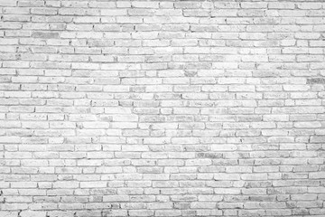 Old white brick wall texture background,brick wall texture for for interior or exterior design...