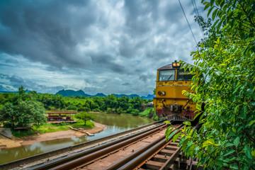 Death Railway at Kanchanburi, Thailand