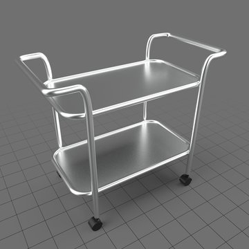 Utility cart with handles