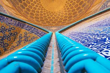 Sheikh Lotfollah Mosque interior Iran