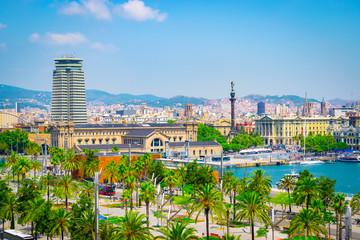 Fotomurales - Port of Barcelona, Spain