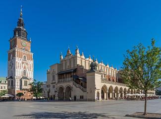 Krakau – Rathausturm und Tuchhallen