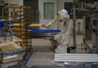 Roboter in der Bäckerei