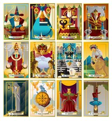 tarot cards collection
