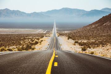 Poster de jardin Route 66 Classic highway scene in the USA