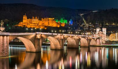 Alte Brücke in Heidelberg, Deutschland
