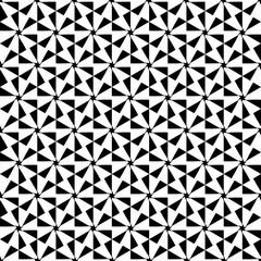 Black and white seamless pattern.