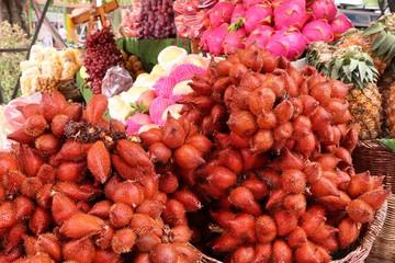 Salacca fruit at street food