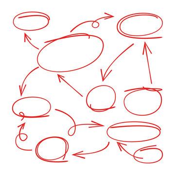 hand drawn diagram, hand drawn chart