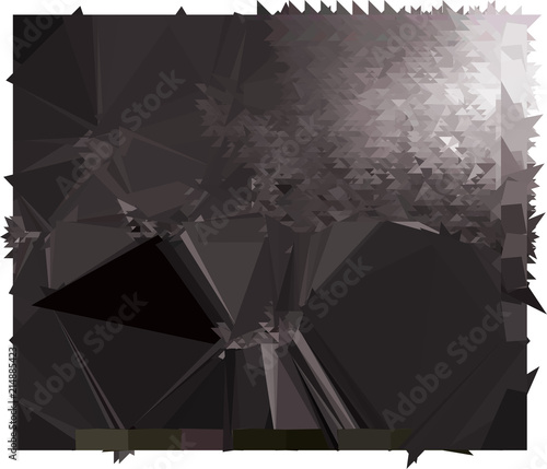broken glass black cool background for website and print stock
