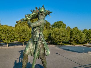 Hagen von Tronje Denkmal in Worms
