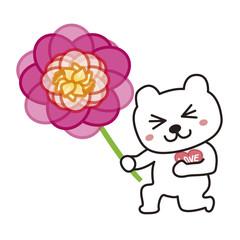 花束を送る