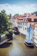 Balade en bateau à Prague