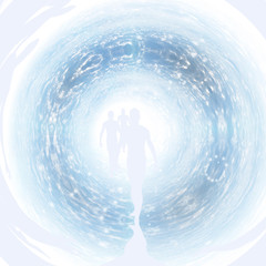 Soul tunnel of light