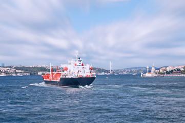 İstanbul Boğazı Tanker geçişi
