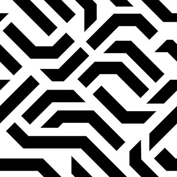 Vector Seamless Pattern Background. Futuristic Hi-Tech Design