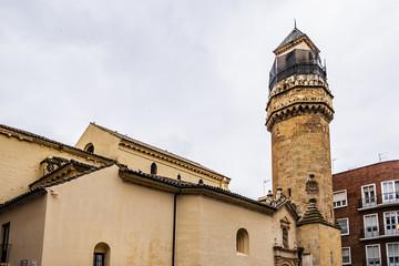 Gothic style Cordoba Church of San Nicolas de la Villa (La Iglesia Parroquial de San Nicolas de la Villa, 1275 - 1325) dedication of San Nicolas. Andalusia, Cordoba, Spain.