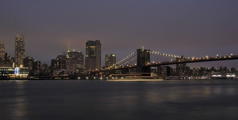 New York, ponte di Brooklyn