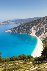 One of the most popular beaches in Greece