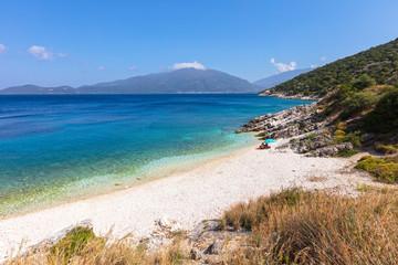 Small beach in Kefalonia island