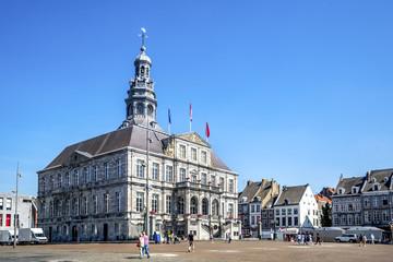 Maastricht, Marktplatz und Rathaus
