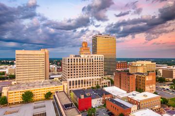 Foto op Plexiglas Zalm Winston-Salem, North Carolina, USA Skyline
