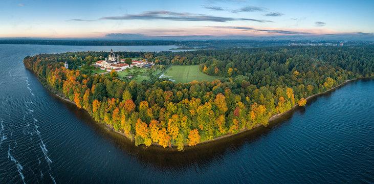 Pazaislis Monastery in Kaunas, Lithuania