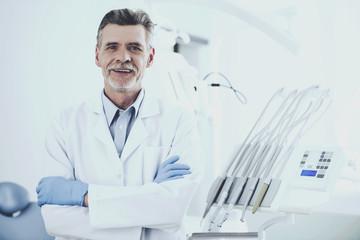 Happy White Doctor.