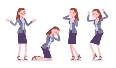 Female teacher negative emotions