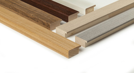 samples of wooden molding